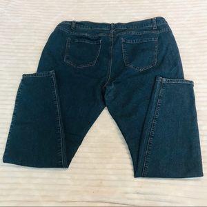 Forever 21 Dark Rinse Skinny Jeans Plus Size 16